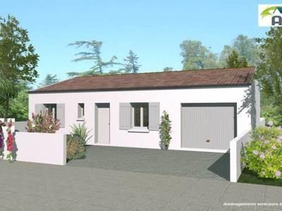 Maison neuve, 70 m² - Niort (79000)