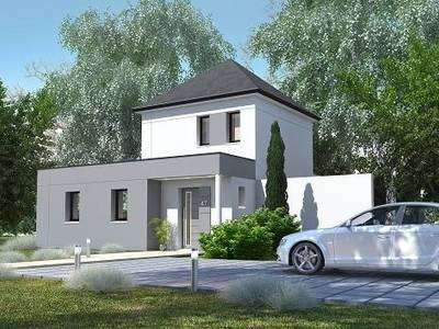 Maison neuve, 93,67 m² - Saint-Ouen-du-Tilleul (27670)