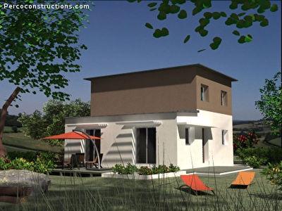 Maison neuve, 93,83 m²