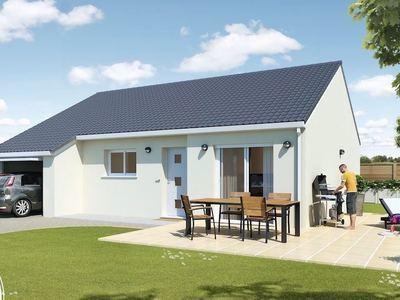 Maison neuve, 75 m² - Chaulgnes (58400)