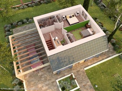 Maison neuve, 82 m²