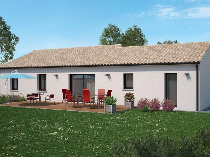 Maison neuve, 106 m²