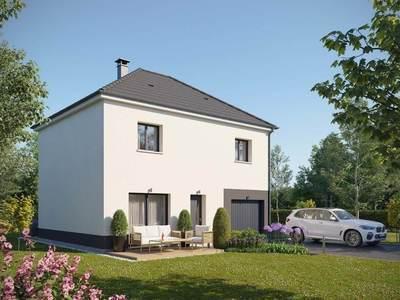 Maison neuve, 100 m² - Louviers (27400)