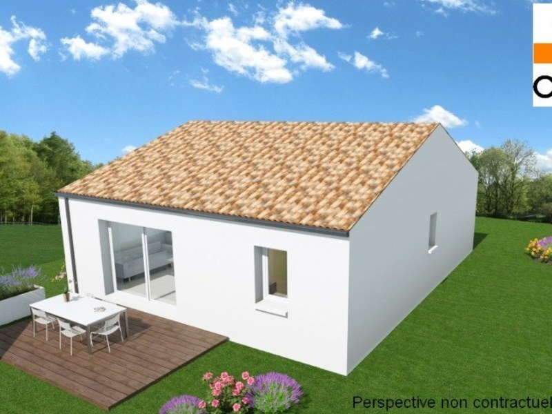 Maison neuve, 60 m²