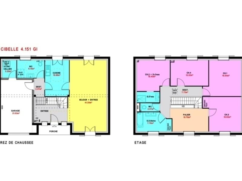 Maisons Pierre Corbeil A Mennecy Maisons De 6 Pieces 365400 Superimmoneuf