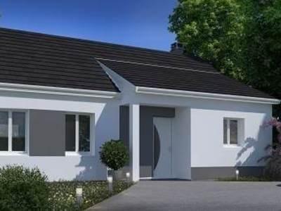 Maison neuve, 75,85 m²