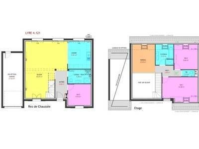 Maison neuve, 121 m² - Vernon (27200)