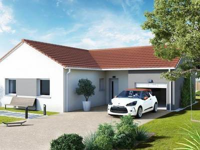Maison neuve, 90 m² - Chemilly (03210)