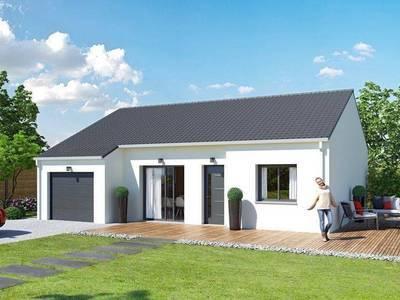 Maison neuve, 75 m² - Chemilly (03210)