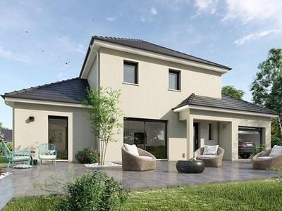 Maison neuve, 95 m² - Vernon (27200)