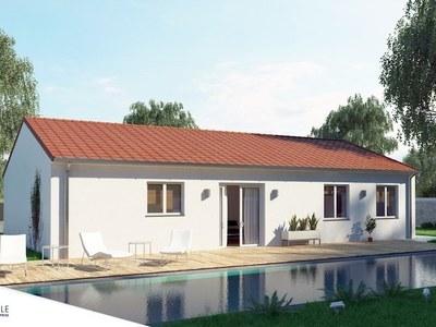 Maison neuve, 105 m² - Saint-Victor (03410)