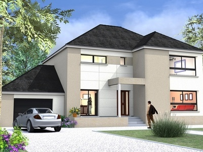 Maison neuve, 197 m²