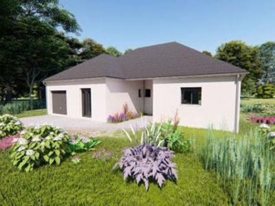 Maison neuve, 112 m² - Lucquy (08300)