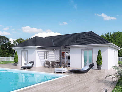 Maison neuve, 100 m² - Saint-Vallier (71230)