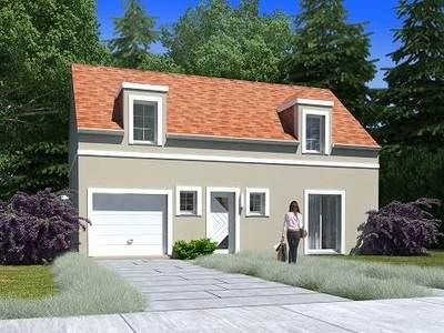 Maison neuve, 98,31 m²