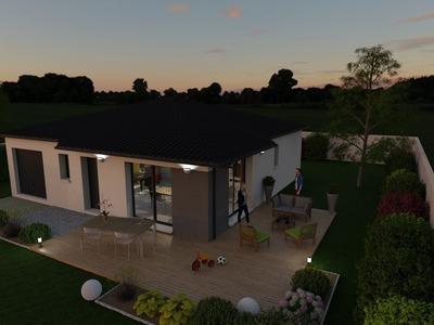 Maison neuve, 107,18 m²