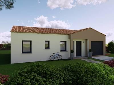Maison neuve, 80 m² - Saint-Augustin (17570)