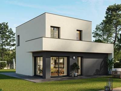 Maison neuve, 90 m² - Etuz (70150)