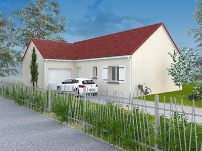 Maison neuve, 85 m² - Saint-Paul-des-Landes (15250)
