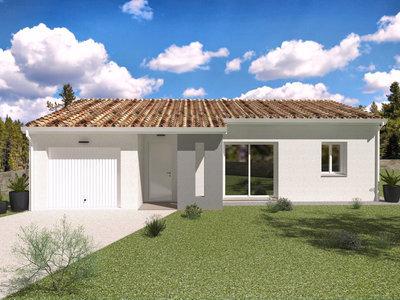 Maison neuve, 93 m² - Estillac (47310)