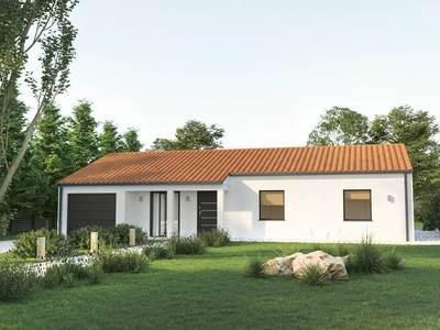 Maison neuve, 100 m² - Saint-Cyr-en-Talmondais (85540)