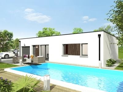 Maison neuve, 83,1 m²