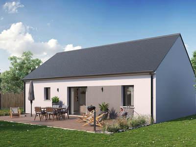 Maison neuve, 69 m² - Saint-Jean-de-Braye (45800)