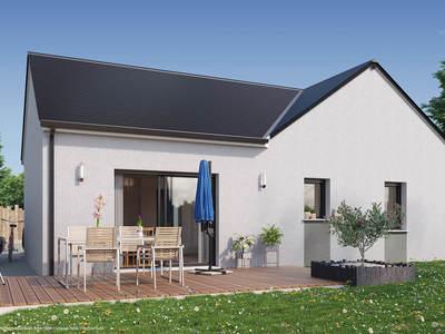 Maison neuve, 76 m² - Saran (45770)