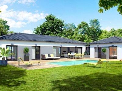 Maison neuve, 100 m² - Lias (32600)