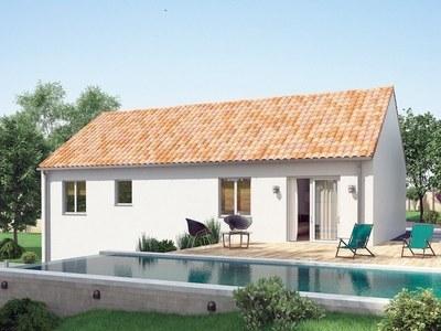 Maison neuve, 93 m² - Pérignat-sur-Allier (63800)