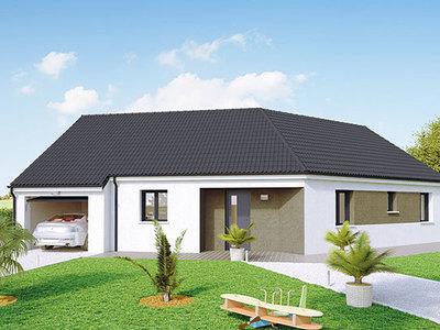 Maison neuve, 90 m² - Châtenoy-en-Bresse (71380)