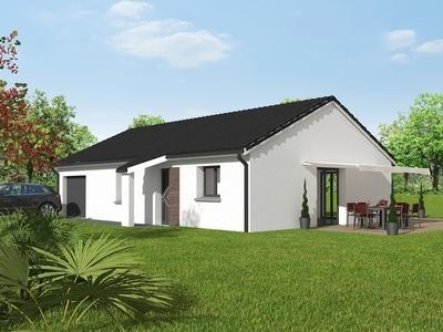Maison neuve, 77,56 m²