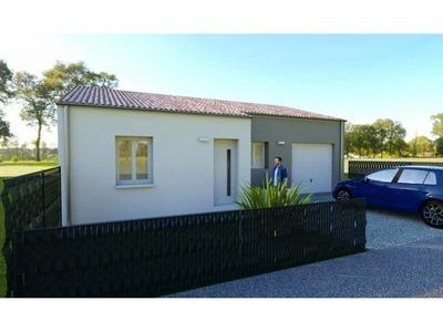 Maison neuve, 91 m² - Saint-Augustin (17570)