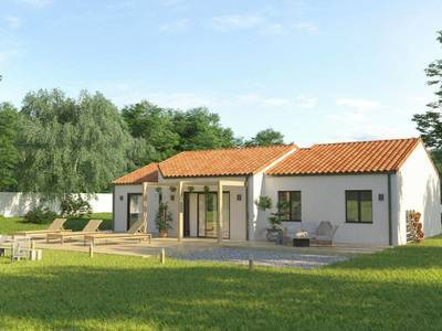 Maison neuve, 111 m² - Pessac (33600)