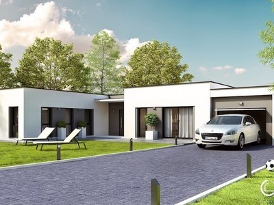 Maison neuve, 95 m² - Chaillevette (17890)