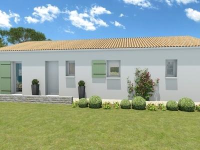 Maison neuve, 100 m² - Breuillet (17920)