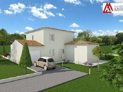 Maison neuve, 102 m² - Saint-Georges-les-Bains (07800)