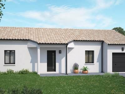 Maison neuve, 96 m² - Mauléon (79700)