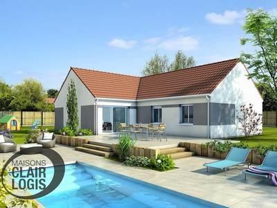 Maison neuve, 100 m² - Le Breuil (03120)