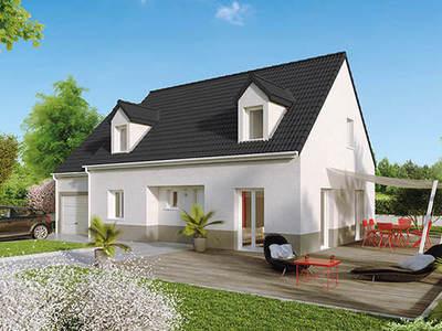 Maison neuve, 109 m² - Pouilloux (71230)