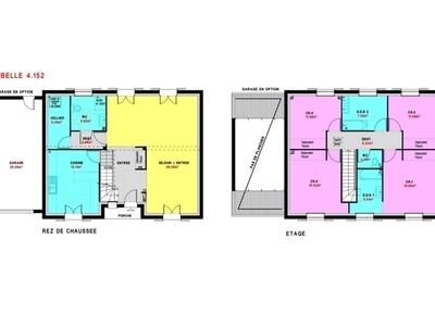 Maison neuve, 152 m² - Nantes (44300)