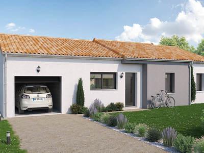 Maison neuve, 87 m² - Mauléon (79700)
