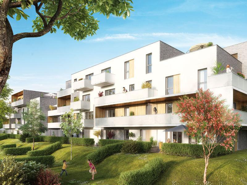 Bpd marignan marcq en baroeul les chemins du bailly 333000 - La residence eb par replinger hossner architects ...