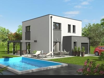 Maison neuve, 101,08 m² - Anould (88650)