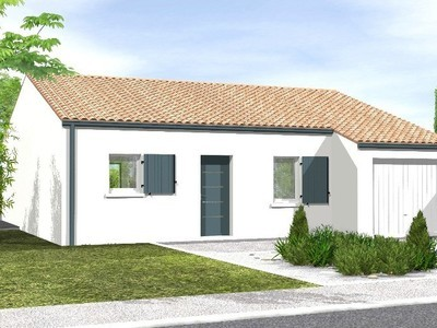 Maison neuve, 77 m² - Lairoux (85400)