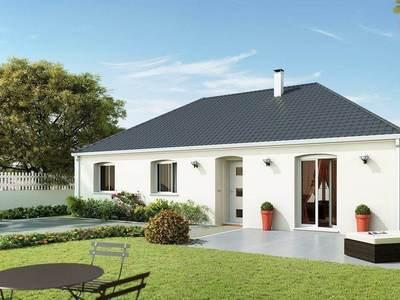 Maison neuve, 98 m² - Farges-lès-Chalon (71150)