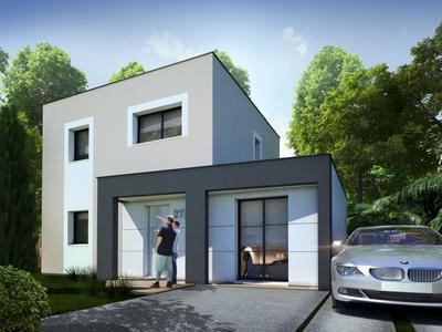 Maison neuve, 92 m² - Sainte-Luce-sur-Loire (44980)