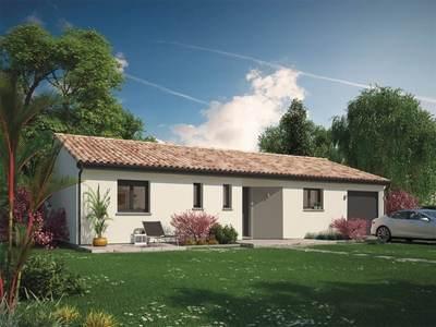 Maison neuve, 85 m² - Cours-de-Pile (24520)