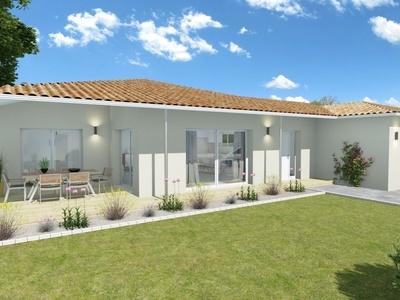 Maison neuve, 133,94 m² - Breuillet (17920)