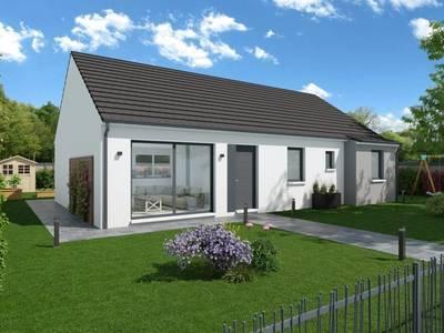 Maison neuve, 105 m² - Louviers (27400)